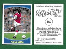 Arsenal Patrick Vieira France 162